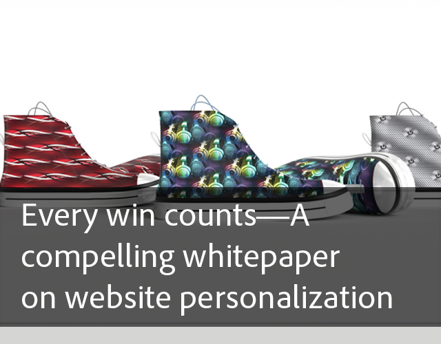 Every win counts-A compelling whitepaper on website personalization