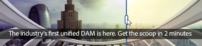 The industry's first unified DAM is here. Get the scoop in 2 minutes