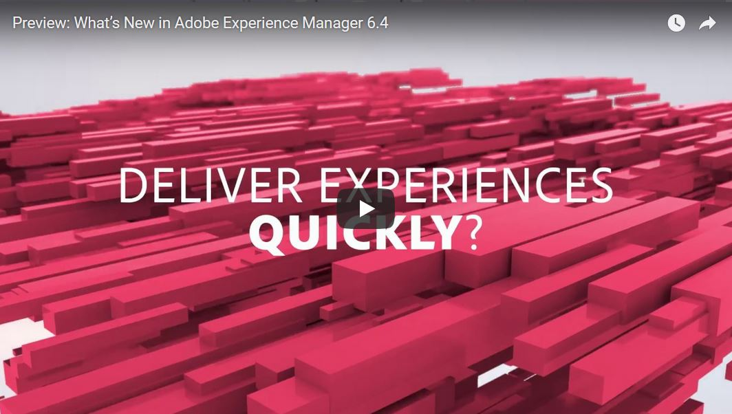 Deliver Experiences Quickly