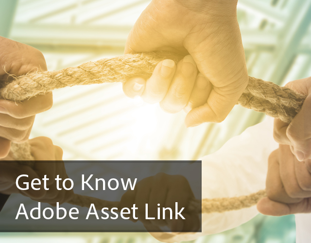 Get to Know Adobe Asset Link