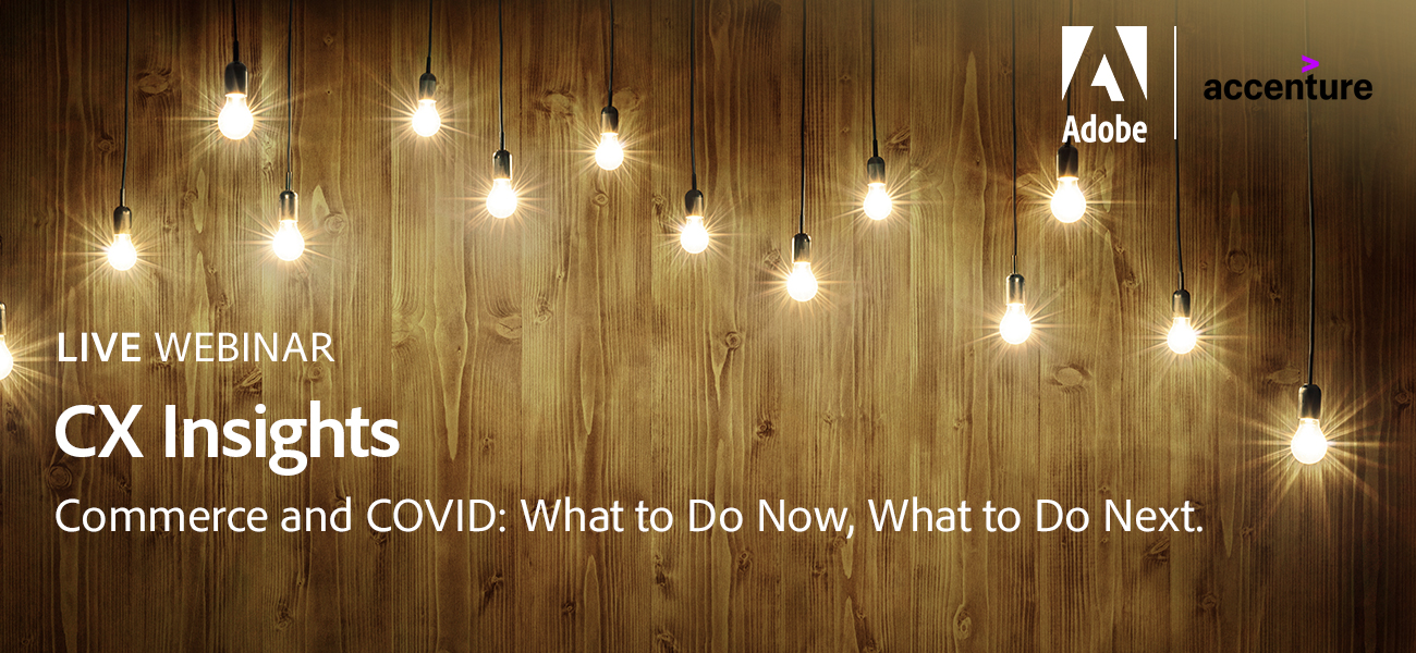 Webinar: Commerce & COVID: What to do Now, What to do Next